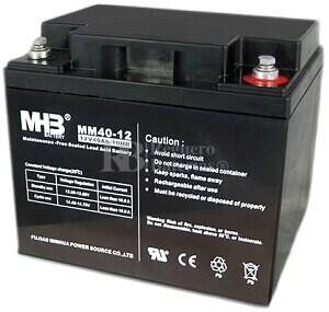 Bateria de Plomo MHB 12 Voltios 40 Amperios MM40-12  196x165x170mm
