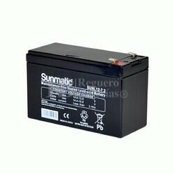 Batería 12 Voltios 7,2 Amperios SUNL12-7.2
