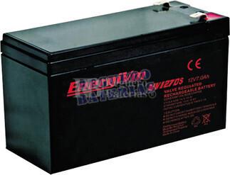 Batería De Plomo 12 Voltios 7 Amperios ENERGIVM MV1270S