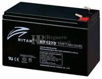 Batería de Plomo 12 Voltios 7 Amperios RITAR RT1270B