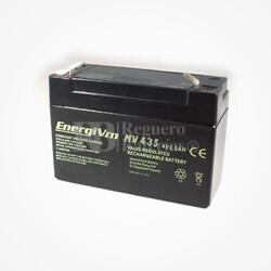 Batería 4 Voltios 3,5 Amperios Energivm MV435