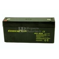 Batería de Plomo 6 Voltios 3.2 Amperios ENERGIVM MV632