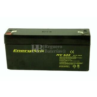 Batería 6 Voltios 3.2 Amperios Energivm MV632