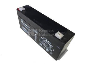 Batería 6 Voltios 3,3 Amperios U-power UP3.3-6