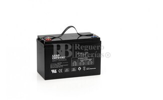 Bateria de Plomo Crystal 12 Voltios 100 Amperios BETTA BATTERY 6-CNFJ-100 330x172x220