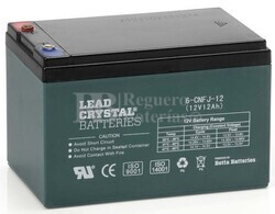 Bateria de Plomo Crystal 12 Voltios 12 Amperios BETTA BATTERY 6-CNFJ-12 151x99x94