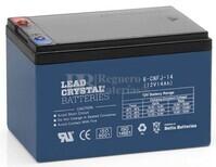 Batería de Plomo Crystal 12 Voltios 14 Amperios Betta Battery 6-CNFJ-14