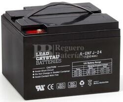 Batería Plomo Crystal 12 Voltios 24 Amperios Betta Battery 6-CNFJ-24
