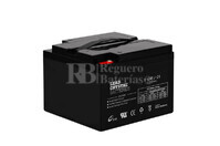 Bateria de Plomo Crystal 12 Voltios 26 Amperios BETTA BATTERY 6-CNFJ-26 176x166x125