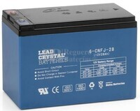 Bateria de Plomo Crystal BETTA BATTERY 12 Voltios 28 Amperios 176x166x125