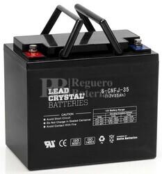 Bateria de Plomo Crystal BETTA BATTERY 12 Voltios 35 Amperios 220x120x175