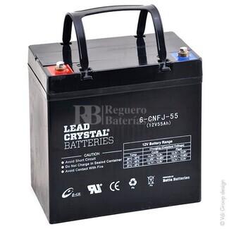 Bateria de Plomo Crystal BETTA BATTERY 12 Voltios 55 Amperios 229x138x210