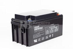 Bateria de Plomo Crystal BETTA BATTERY 12 Voltios 65 Amperios 348x167x175