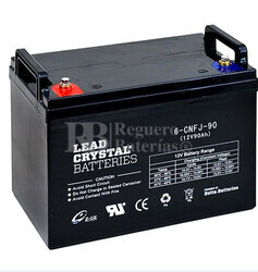 Bateria de Plomo Crystal BETTA BATTERY 12 Voltios 90 Amperios 306x169x206
