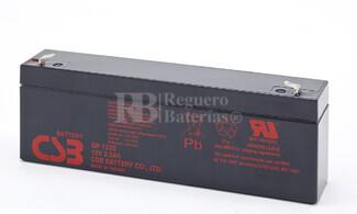 Bateria de Plomo GP1222 CSB 12 Voltios 2,2 Amperios