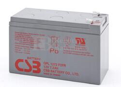 Batería de Plomo 12 Voltios 7,2 Amperios (Alto rendimiento y Larga vida Util) CSB GPL1272