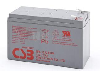 Batería 12 Voltios 7,2 Amperios Larga Vida Csb GPL1272