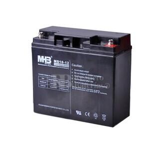 Bateria de Plomo MHB 12 Voltios 18 Amperios MS18-12 181x77x167mm