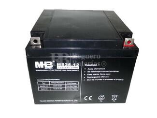 Bateria de Plomo MHB 12 Voltios 26 Amperios MS26-12 175x166x125mm