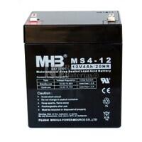 Bateria de Plomo MHB 12 Voltios 4 Amperios MS4-12 90x70x101mm