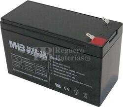 Bateria de Plomo MHB 12 Voltios 9 Amperios MS9-12 151x65x94mm