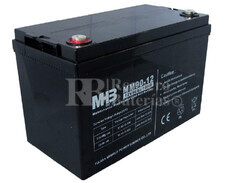 Bateria de Plomo MHB 12 Voltios 90 Amperios MM90-12  330x173x220