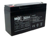 Bateria de Plomo MHB 6 Voltios 12 Amperios  MS12-6  151X50X94MM