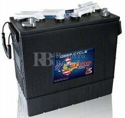 Bateria de tracción 12 voltios 220 Amperios C20 US Battery US185HCXC2  397x179x378 mm