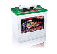 Bateria de tracci�n 6 voltios 242 Amperios C20 260x181x286 mm US Battery US125XC2