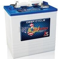 Bateria de tracci�n 6 voltios 251 Amperios C20 260x181x302 mm US Battery US145XC2