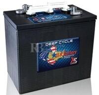 Bateria de tracción 6 voltios 255 Amperios C20 US Battery US250XC2  295x181x295 mm