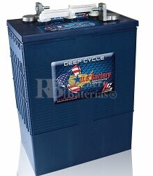 Bateria de tracción 6 voltios 420 Amperios C20 US Battery USL16HCXC  302x181x425 mm