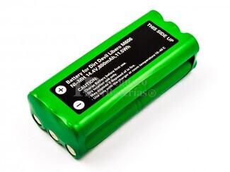 Batería para Aspirador Dirt Devil Libero M606,M607,M612, 14,4V, 800mAh