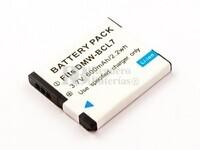 Bateria DMW-BCL7, Li-ion, 3,7V, 600mAh, 2,2Wh para camaras Panasonic