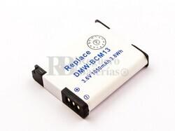 Batería DMW-BCM13, DMW-BCM13E para cámaras Panasonic