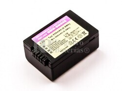 Batería DMW-BMB9E, Li-ion, 7,2V, 950mAh, 6,8Wh, decoded para camaras Panasonic