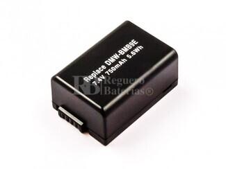 Bateria DMW-BMB9E, Li-ion, 7,4V, 750mAh, 5,6Wh, not decoded para camaras Panasonic