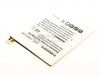 Batería EB-BT355ABE para tablet Samsung Galaxy Tab A 8.0, SM-T355, Li-Polymer, 3,8V, 4200mAh, 16,0Wh