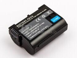 Bater�a EN-EL15 para NIKKON 1 V1, D600, D610, D7000, D7100, D800, D800E, D810