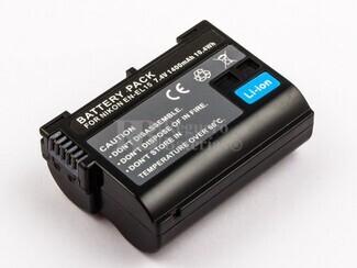 Batería EN-EL15 para NIKKON 1 V1, D600, D610, D7000, D7100, D800, D800E, D810