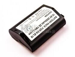 Bateria EN-EL18, para camaras NIKON Li-ion, 11,1V, 2600mAh, 28,9Wh