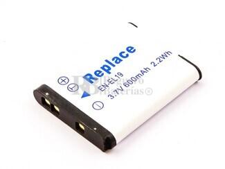 Batería EN-EL19 para Nikon Coolpix S100, Coolpix S2500, Coolpix S2550, CoolPix S2600