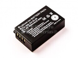 Batería EN-EL20 para Nikon 1 AW1, 1 J1, 1 J2, 1 J3, 1 S1, Coolpix A