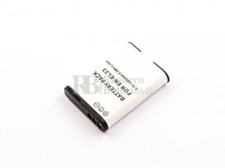 Bateria EN-EL23, para camaras NIKON, Li-ion, 3,7V, 1400mAh,