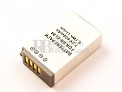 Batería EN-EL24 para Nikon Li-ion, 7,2V, 850mAh, 6,1Wh