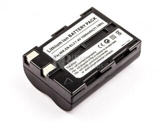 Batería EN-EL3 para Nikon D70S, D70, D50, D100 SLR, D100
