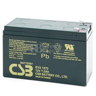 Bateria AGM Ciclica en 12 Voltios 7,2 Amperios para Bicicletas Electricas
