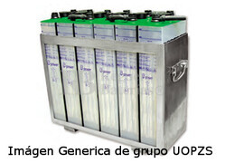 Batería estacionaria 4UOPZS500 2 Voltios 650 Amperios 198X101X720 mm
