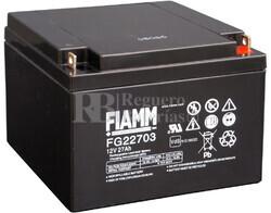 Batería 12 Voltios 27 Amperios FIAMM FG22703