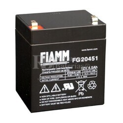 Batería 12 Voltios 4,5 Amperios Fiamm FG20451